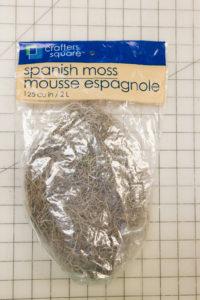 Dollar Tree moss