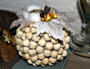 RFH Make-A-Farmhouse-Style-Wood-Bead-Pumpkin-Our-Crafty-Mom