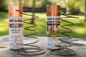 Sofa Upholstery Springs and Rust-Oleum Paint