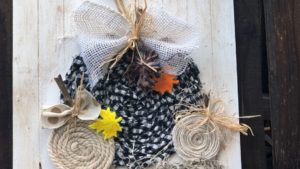Simple fabric pumpkin