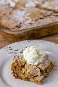 Old Fashioned Apple Walnut Cake