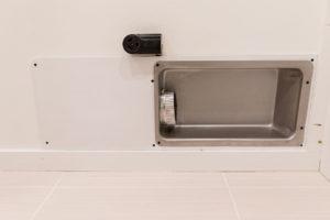 Dryer vent box cover