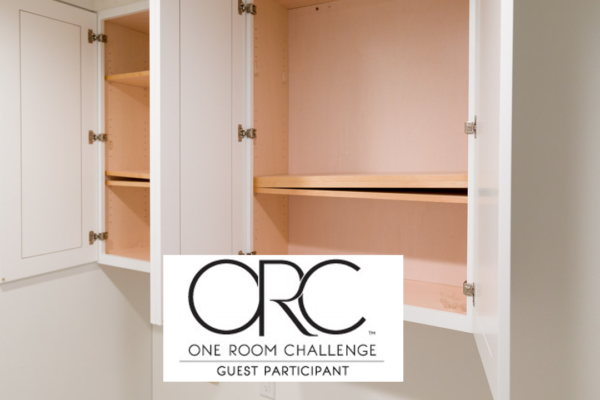 Laundry Room Cabinets – One Room Challenge Week 3