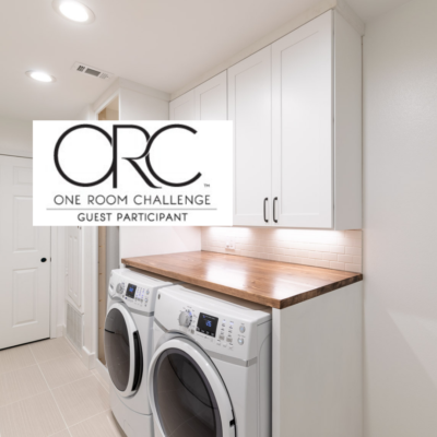 Laundry room makeover ORC week 4