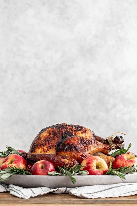 Apple Cider Sage Thanksgiving Turkey Brine