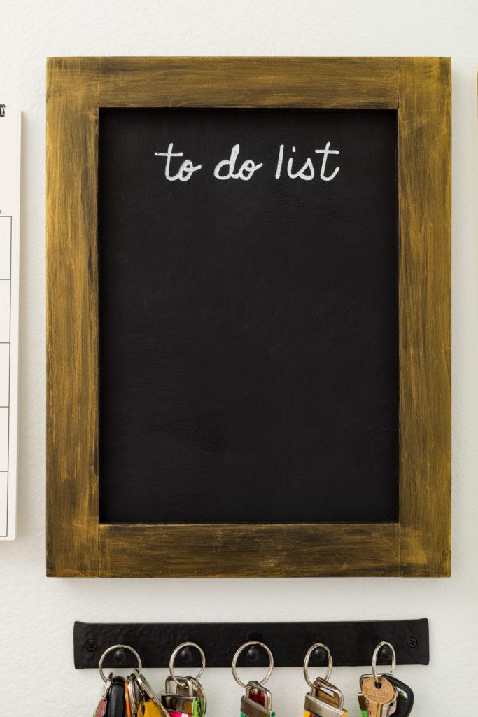 DIY To Do List Chalkboard