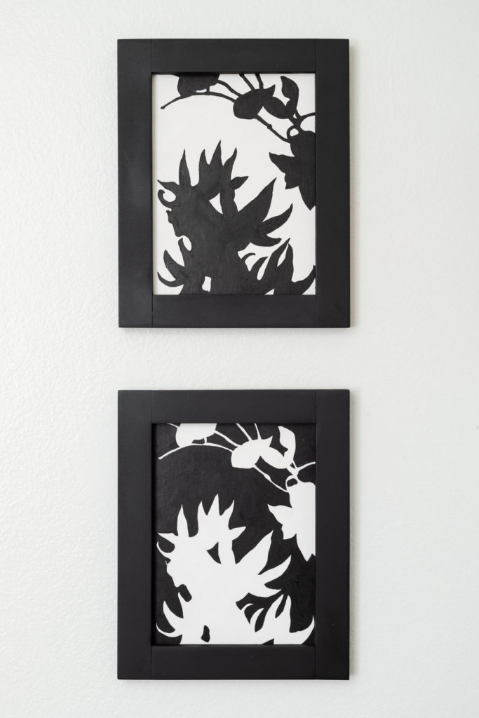 Two D Art with Handmade Frames
