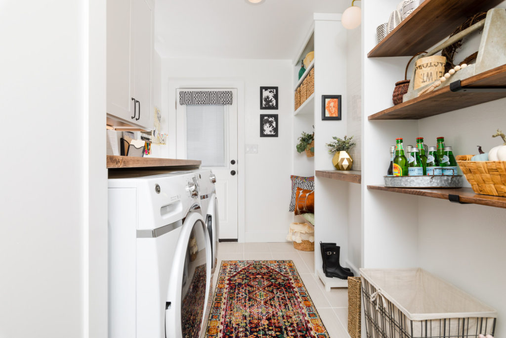 Laundry Room Makeover Week 6
