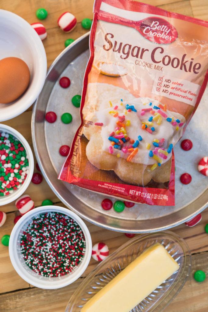 Cookie Cake Ingredients