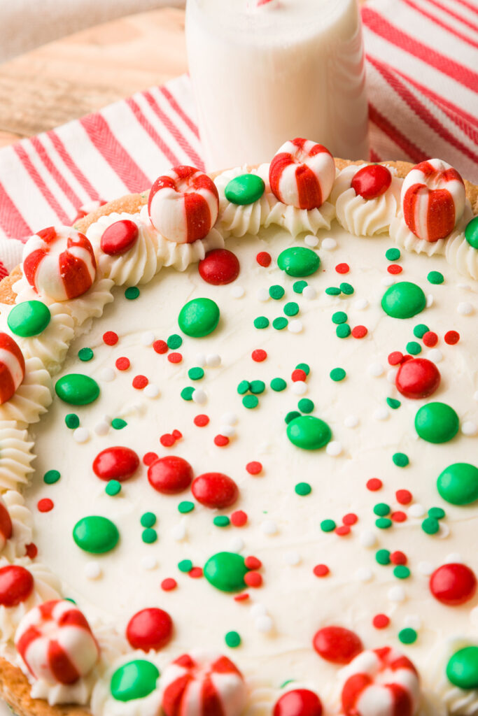 Christmas Sugar Cookie Cake