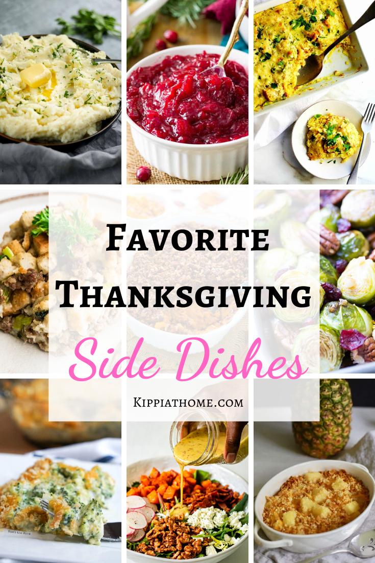 Favorite Thanksgiving sides dish recipes