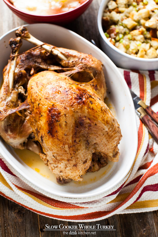 Slow Cooker - Crock Pot Whole Turkey