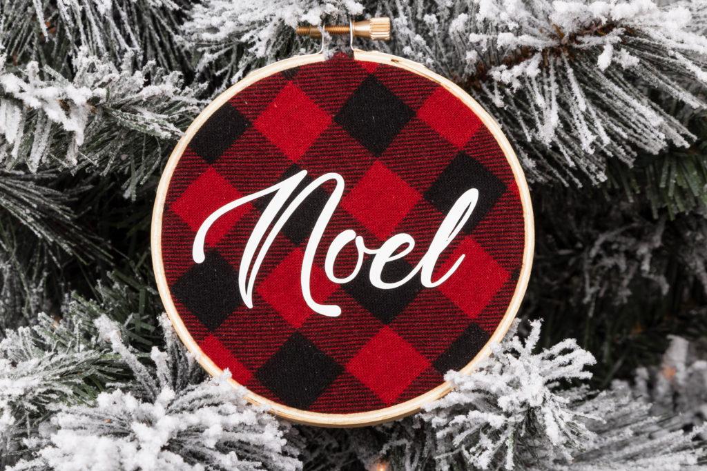 Noel DIY Christmas Tree Ornament