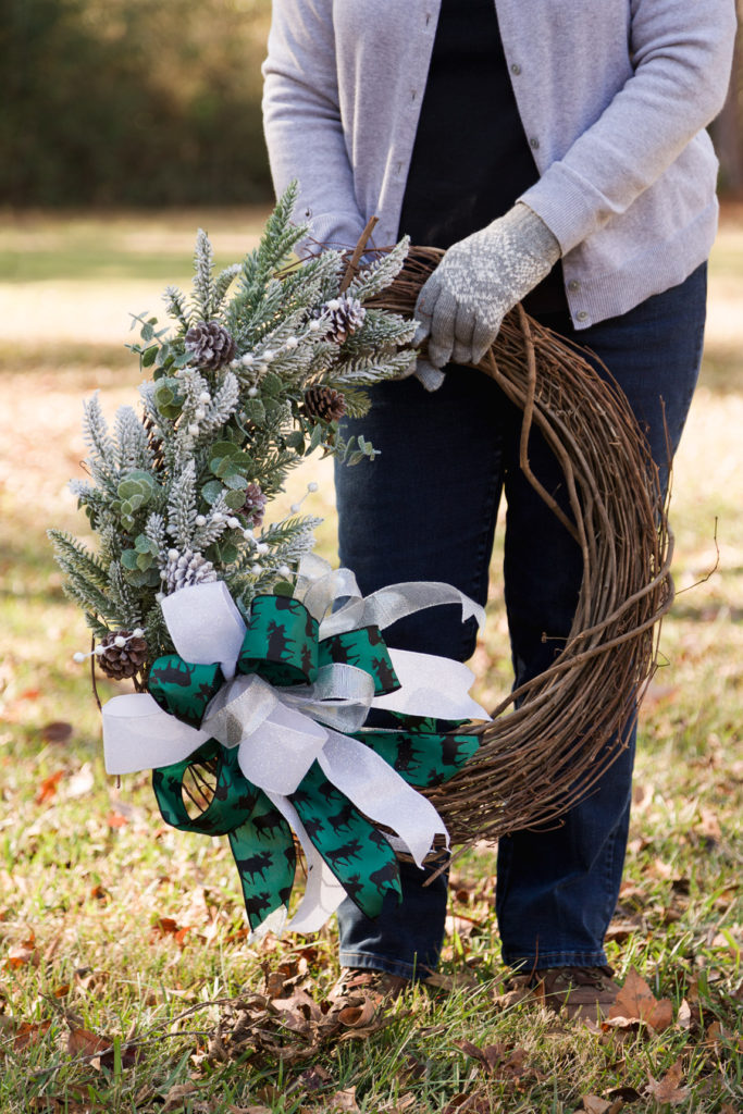 Gorgeous DIY Christmas Wreath