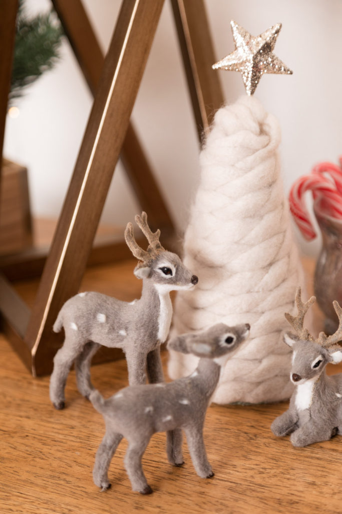 Handmade yarn Christmas Tree