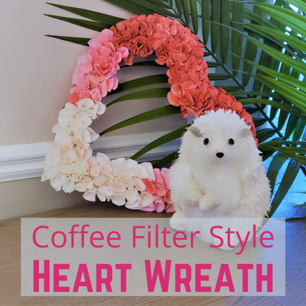Ombre Heart Valentine Wreath