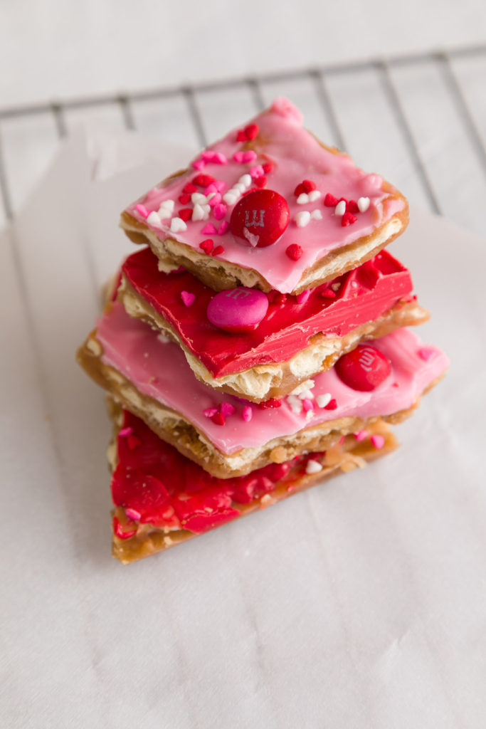 Simple cookie recipes with red and pink toppings