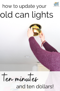 Replacing can lights
