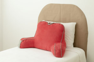 Craft paper template with pillows