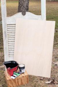 Chalkboard supplies