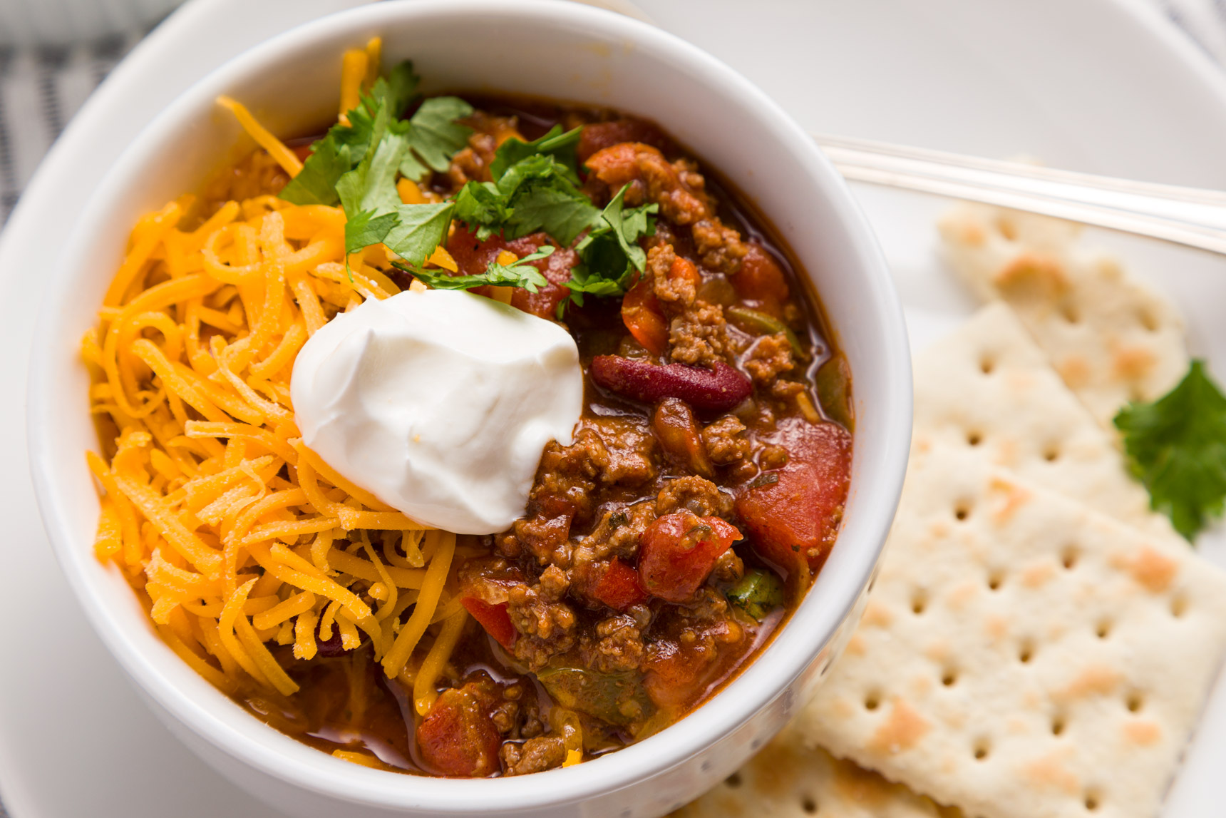 Crock Pot Chili by Kippi at Home - WEEKEND POTLUCK 450