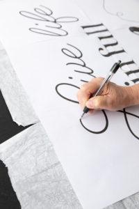 Tracing my design