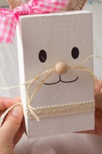 DIY Rustic Wooden Bunny