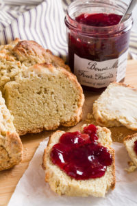 Soda Bread Served with your favorite berry jam