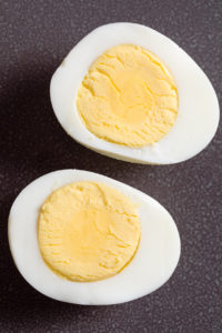Instant Pot cooked eggs