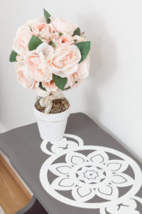 DIY Topiary and chalk paint