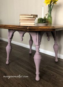 Chalky Painted side table