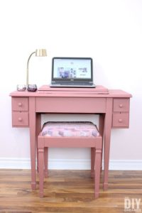 Fusion Mineral Painted sewing table