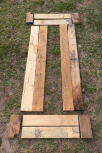 Reclaimed wood for raised beds (not pressure treated lumber)