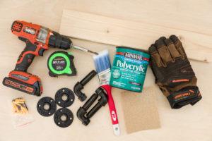 Coat Hook Board building supplies