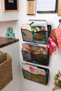 Magazine, mail and file folders wall mounted file folder holders