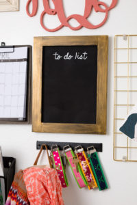 To-Do List chalkboard is the perfect place to leave a reminder
