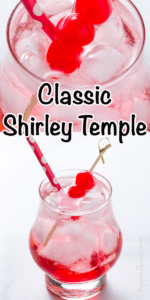 Classic Shirley Temple Drink Recipe. This classic Shirley Temple recipe brings back fond childhood memories are so simple to make and kids love them so let's make some together… #shirleytempledrink #kippiathome