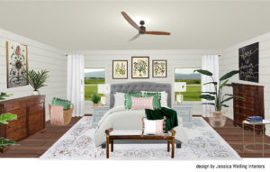Room design and color schemes
