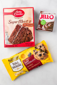 Packed ingredients