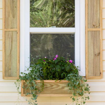 DIY Window Boxes – Flower Planters