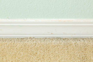 Old baseboards