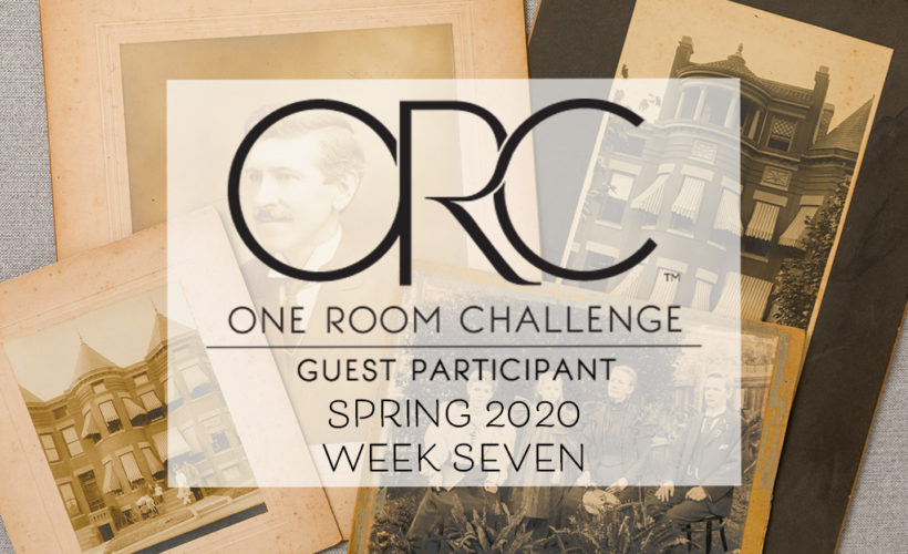 One Room Challenge Week 7