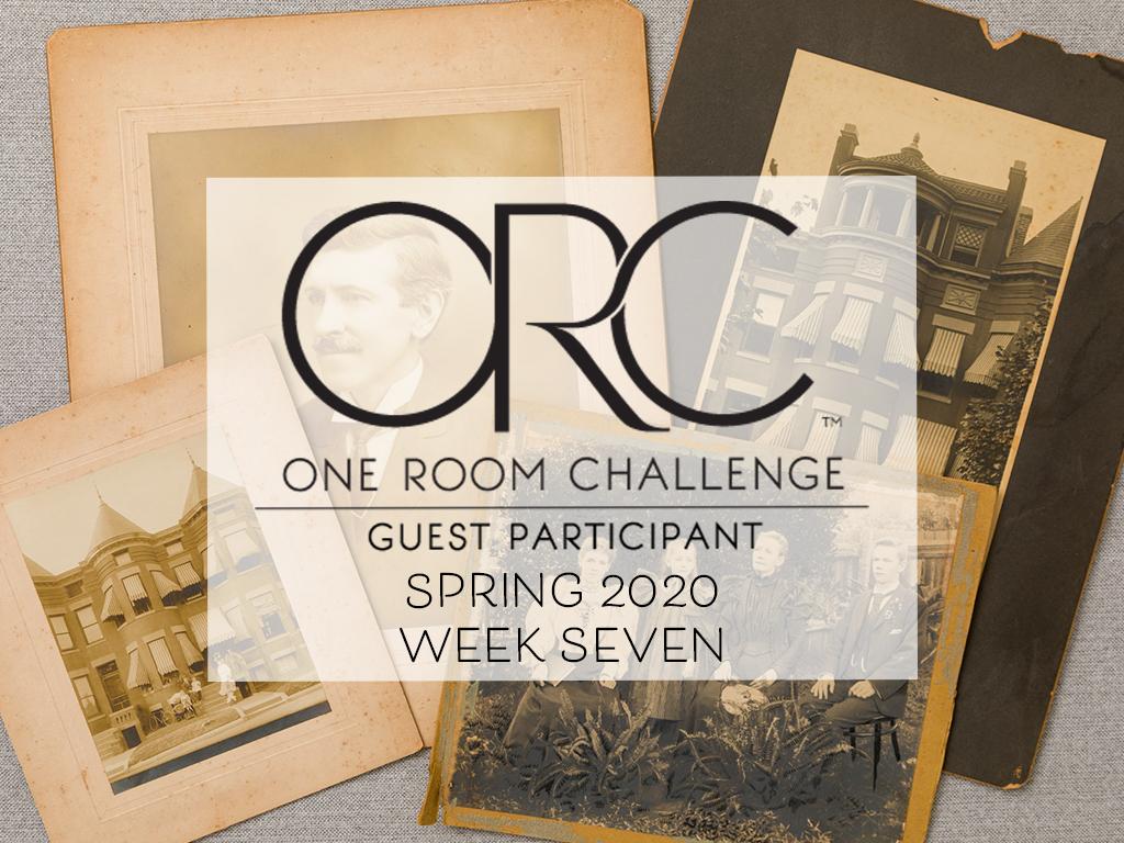 One Room Challenge Week 7