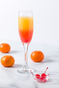 A Mimosa ready to be enjoyed