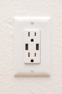 USB and electric outlets
