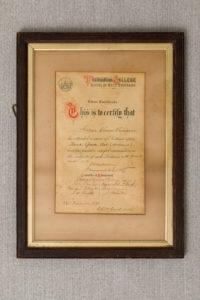 Art College Certificate