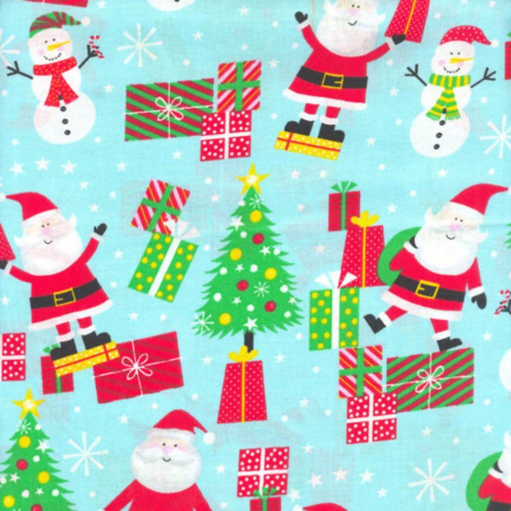 Santa Fabric