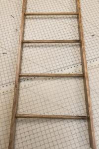 Finished display ladder