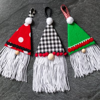 Christmas Gnomes – Homemade Christmas Ornaments