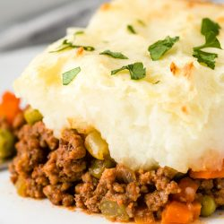 Shepherd's Pie serving